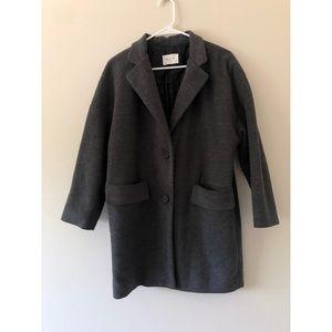 IU Korean Made Grey Coat